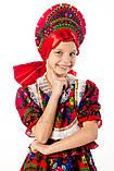 Детский карнавальный костюм для девочки Кадриль 110-152р, фото 4
