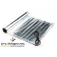 Мат алюминиевый IN-THERM AFMAT-150 3 м2 / 450 Вт, под ламинат, паркетную доску