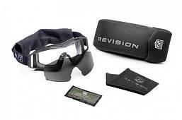 Защитные баллистические очки REVISION Wolfspider Esn ц:черный, 2 светофильтра