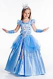 Детский карнавальный костюм для девочки Золушка 110-128р, фото 3