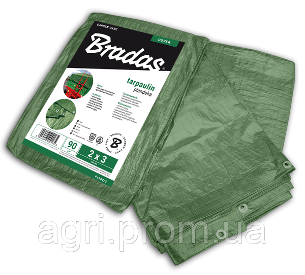 Тенти 90 гр/м2 GREEN (10м*15м)