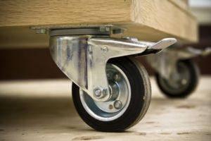 Крепления, колеса и стопоры