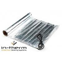 Мат алюминиевый IN-THERM AFMAT-150 5 м2 / 750 Вт, под ламинат, паркетную доску