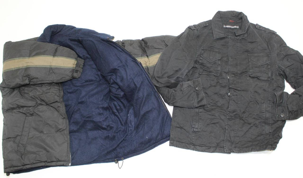 Секонд хенд куртки теплые  мужские Польша евро зима Оптом от  25 кг