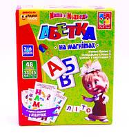 Игра на магнитах Абетка с Машей (укр.) Vladi Toys (VT3305-02)