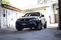 BMW X5 E70 замена штатных линз на Hella F1