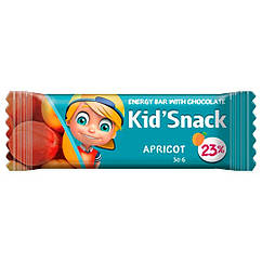 """Энергетический батончик для детей со вкусом абрикоса """"Kid'Snack"""", 30 грамм"""
