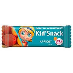 """Енергетичний батончик для дітей зі смаком абрикоса """"Kid Snack"""", 30 грам"""