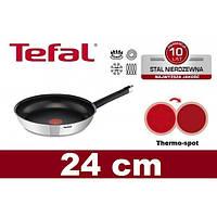 Сковородка TEFAL EMOTION INOX 24 см, фото 1