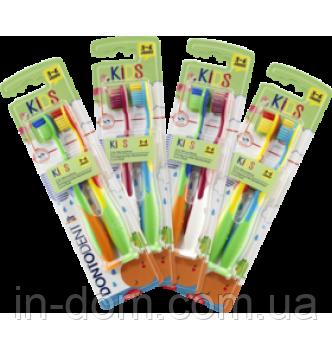 Dontodent Kids Milchzahne 3 - 6 jahre детские зубные щетки возраст 3-6 лет 2 шт.