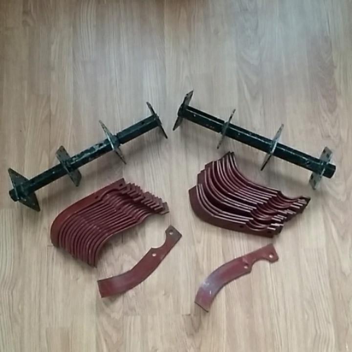 Фреза в сборе под вал Ø 24 мм (16 пар ножей)