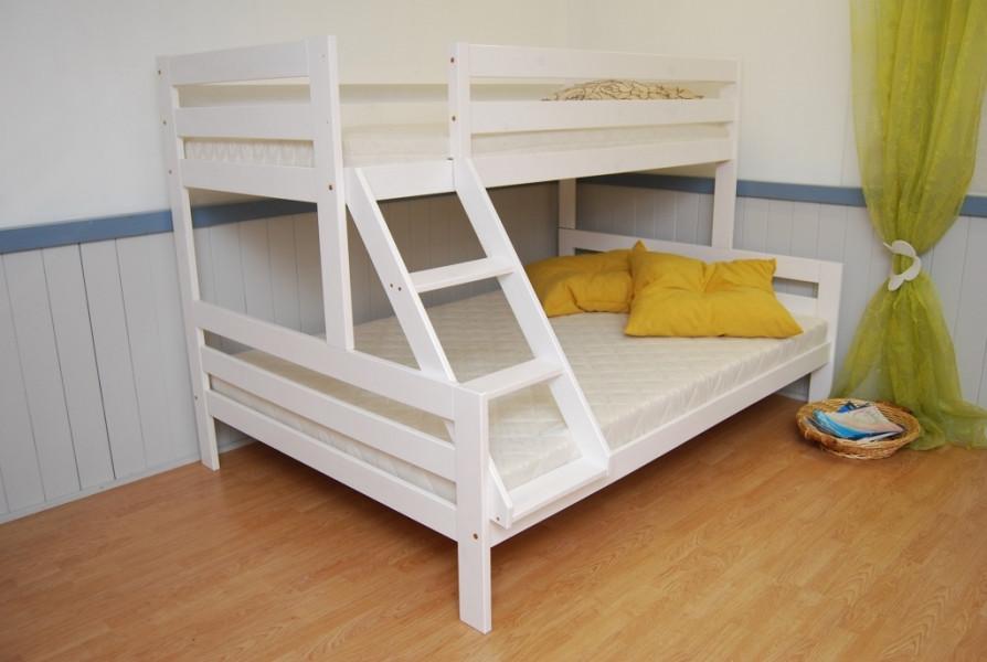 """Кровать детская двухъяруснаядля троих Микс-Лайн """"Трио"""""""