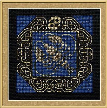 Набор для вышивания крестом Риолис 1204 «Рак»