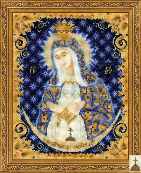 Набор для вышивания крестом Риолис 1299 «Богоматерь Остробрамская»