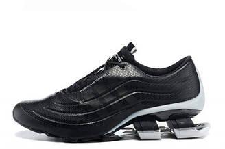 Оригинальные мужские кроссовки Adidas X Porsche Design Sport BOUNCE S4 Black Grey