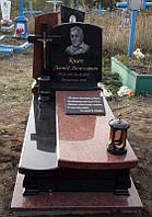 Одинарний пам'ятник  гранітний К5001