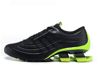 Мужские  кроссовки  Adidas X Porsche Design Sport BOUNCE S4 Black Green