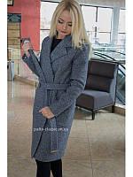 Купить в интернете пальто женское утеплённое двубортное VOLSAR 7008с a12127f804320