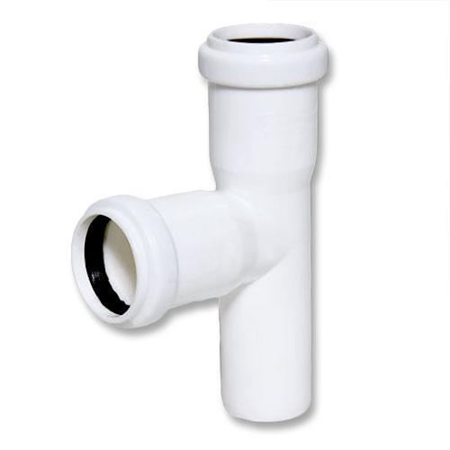 Тройник ПП внутренней канализации Ostendorf 50/50х87° белый