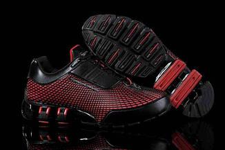 Оригинальные мужские кроссовки Adidas Porsche Design VI Rubber Black Red L