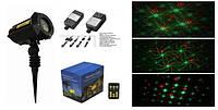 Лазер для подсветки дома на Новый год X-34P-B1 X-laser  красно-зелёный, много картинок, 150mW