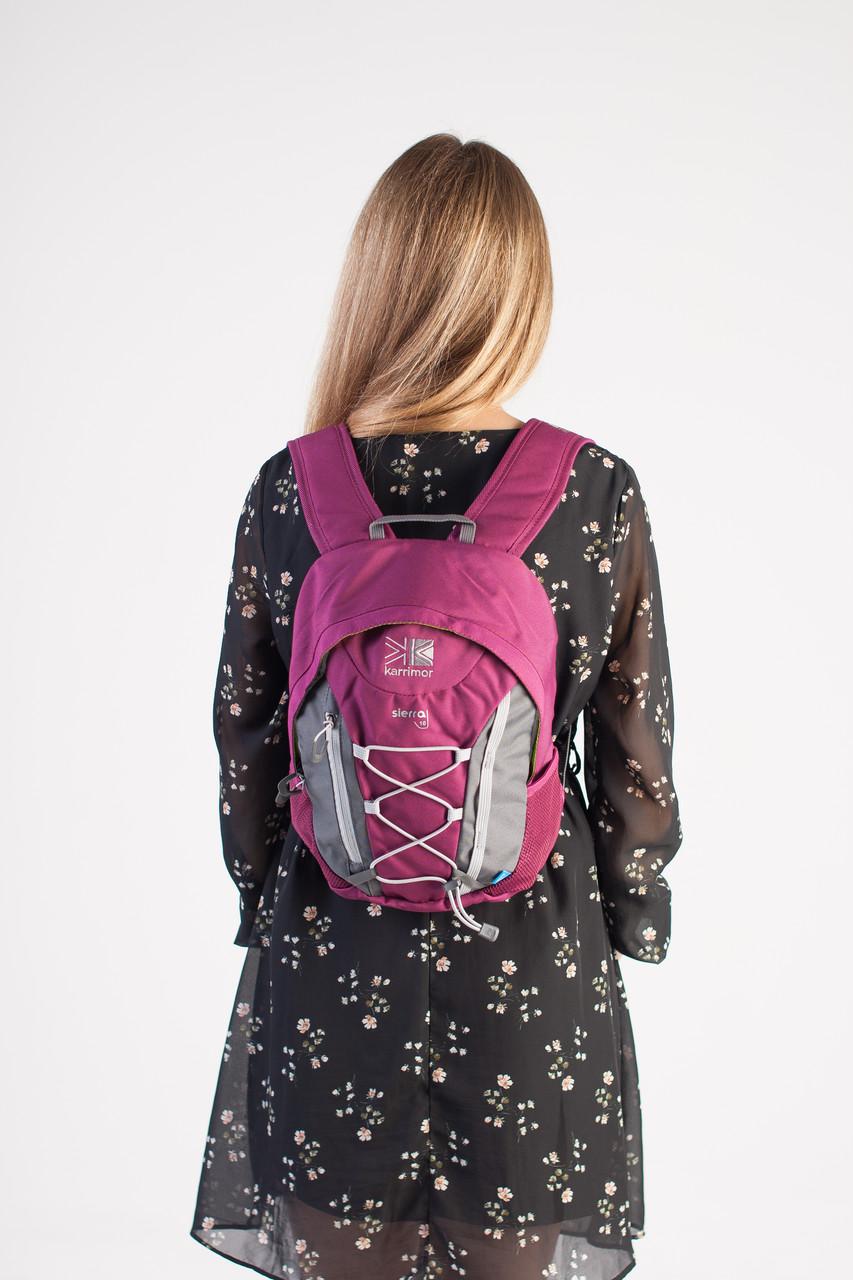 Спортивный женский рюкзак Karrimor, темно-розовый, фото 3
