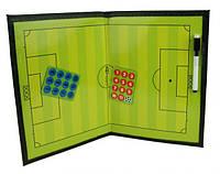 Планшет тактический футбол COACH (40x27cm) Europaw