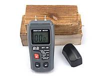 Влагомер древесины игольчатый CSY01H EMT01 MT-10 (5-99,9%) с 4 режимами для 28 пород древесины