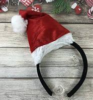 Обруч колпак Дед Мороза, колпак Санты