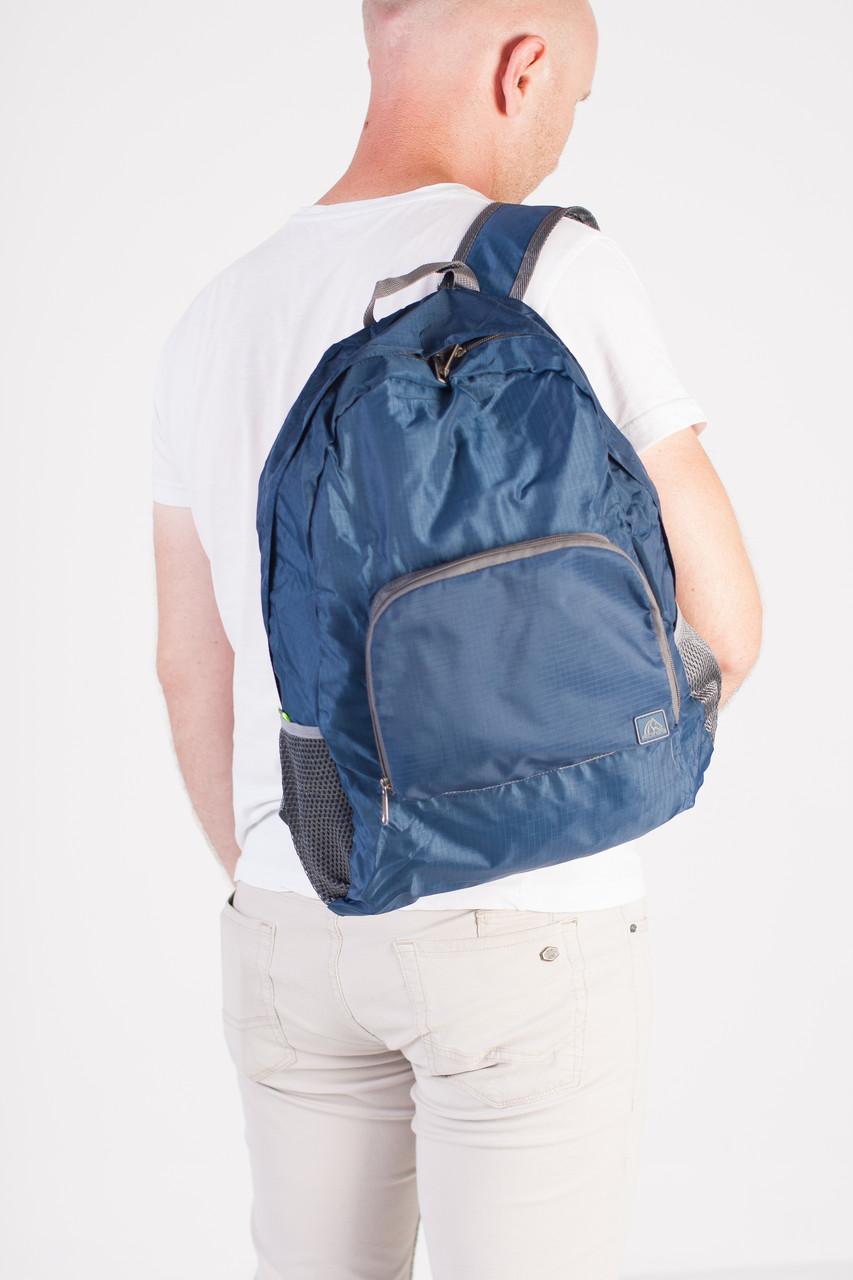 Спортивный рюкзак Sport компактный, темно-синий, фото 5