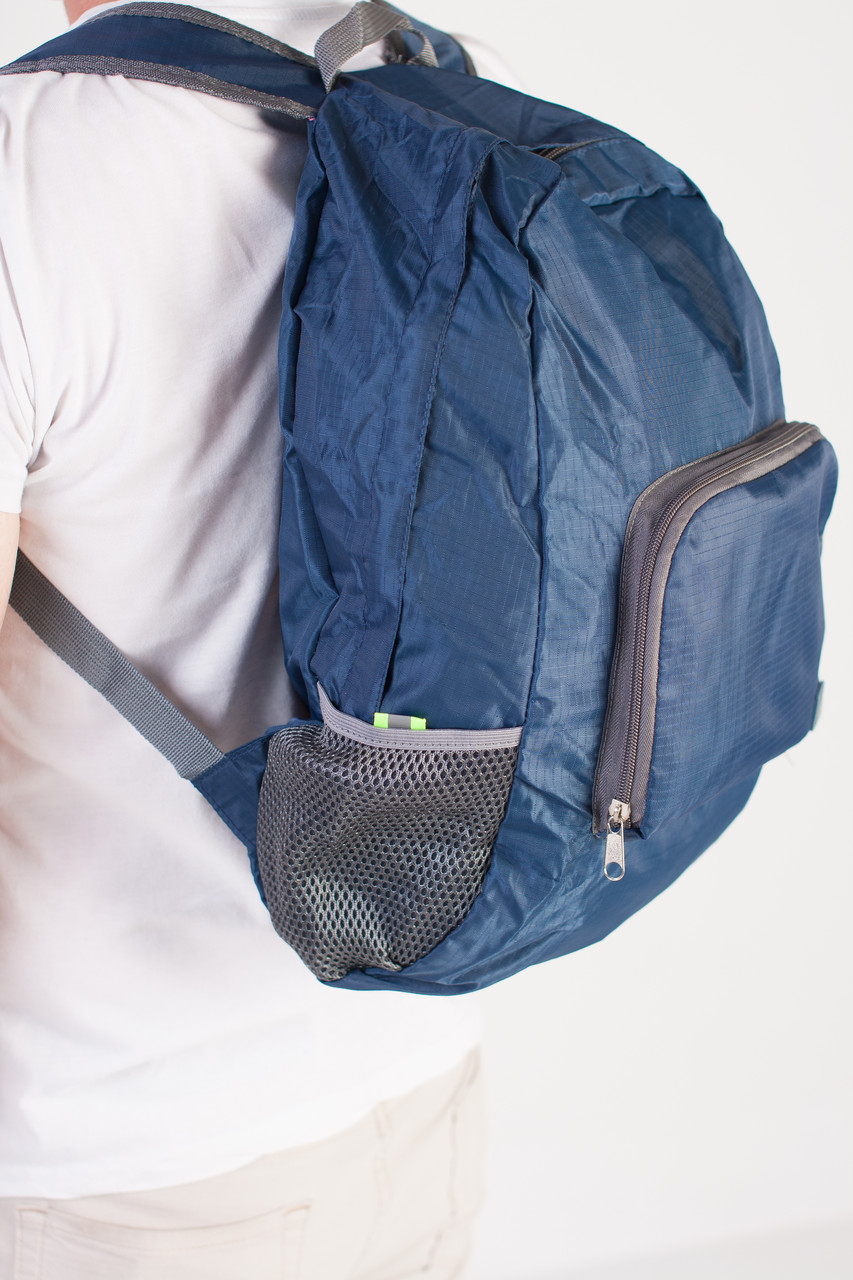 Спортивный рюкзак Sport компактный, темно-синий, фото 4