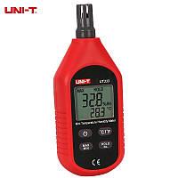 Цифровой термо-гигрометр UNI-T UT333 (RH: 0-100%; T:-10...+60 C) Цена с НДС