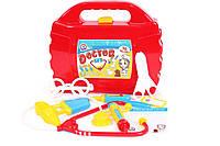 Детский игровой набор Доктора в чемоданчике, 10 предметов