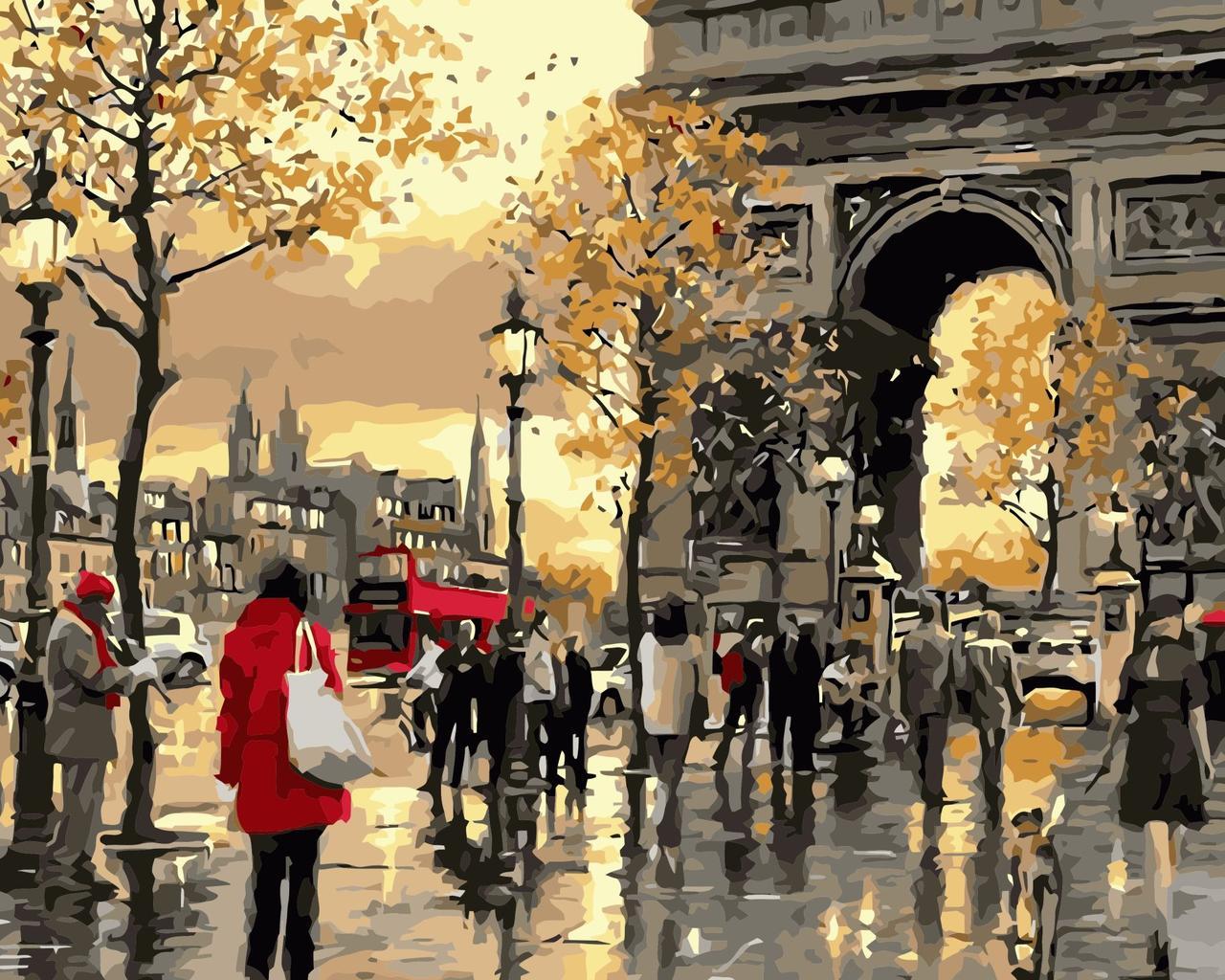 Живопись по номерам Осенняя Франция ArtStory AS0362 40 х 50 см