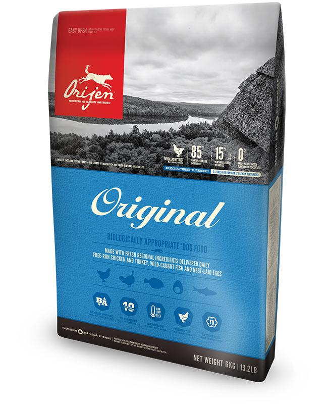 Orijen Original Dog (Ориджен Ориджинал Дог) - сухой корм для собак  2 кг