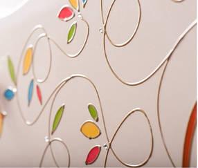 Детская спальня «Цветы жизни» МДФ Венге светлый/Ваниль глянец(ТМ Вальтер)