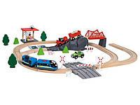 Игровая железная дорога PlayTive Junior (72 деталей)