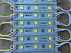 Светодиодный модуль SMD 5054 3 светодиода 120* теплый белый IP65 Код.59405, фото 2