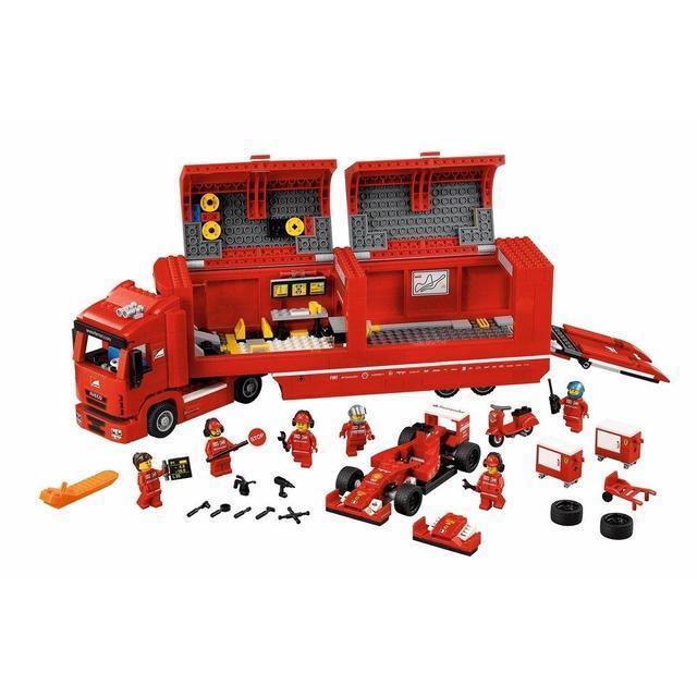 "Конструктор Lepin 21010 ""Феррари F14 и грузовик Skuderia"" 914 деталей"