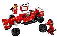 "Конструктор Lepin 21010 ""Феррари F14 и грузовик Skuderia"" 914 деталей, фото 7"