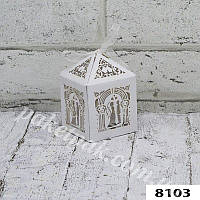Подарочная коробка борбоньерка (уп-10 шт)