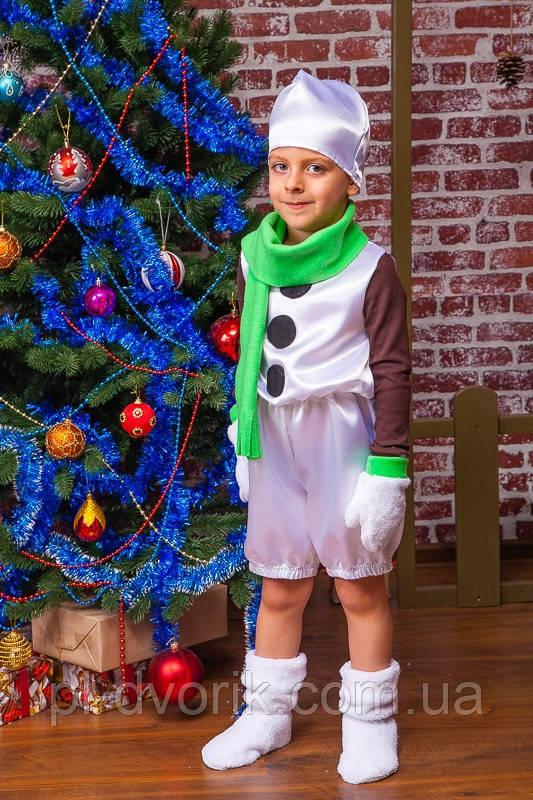 """Новогодний костюм """"Снеговик""""  Модель: 7014"""