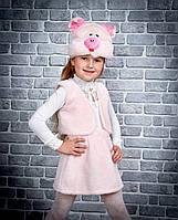 Карнавальный костюм детский меховой Поросенок