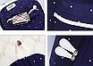 Рюкзак женский городской в горошек набор Werring Черный, фото 6