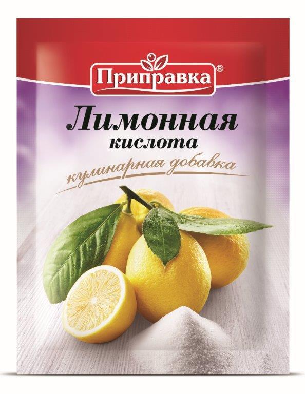 """Приправа ТМ """"Приправка"""" Лимонная кислота 100 г"""