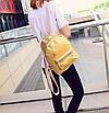 Рюкзак женский голографический в стиле Givenchy Золото, фото 5