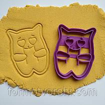 """3D формочки-вырубки для пряников """"Котик с сердечками"""""""