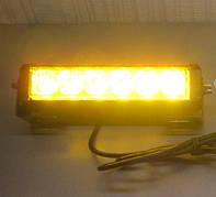 Стробоскопы жёлтые S5-6 LED Federal signal 12-24В (7799)
