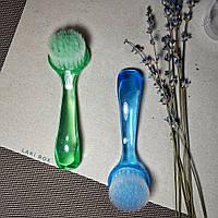 Щетка для ногтей от пыли с длинной и удобной ручкой, цвета в ассортименте, фото 1