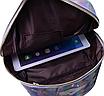 Рюкзак женский голографический в стиле Givenchy Серебро, фото 8